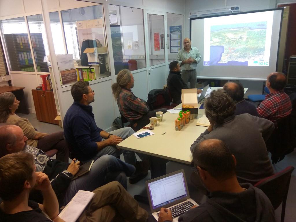 Συνάντηση επιστημονικής επιτροπής του έργου LIFE IGIC