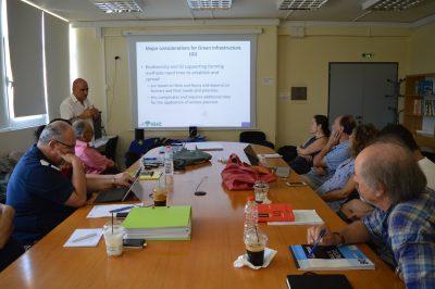 Συνάντηση των εταίρων με την εξωτερική ομάδα παρακολούθησης του έργου